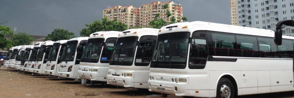 Dịch vụ cho thuê xe 45 chỗ giá rẻ tại Hà Nội