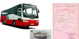 Thủ tục cấp phù hiệu hợp đồng cho xe khách, du lịch Siêu tốc, Giá rẻ